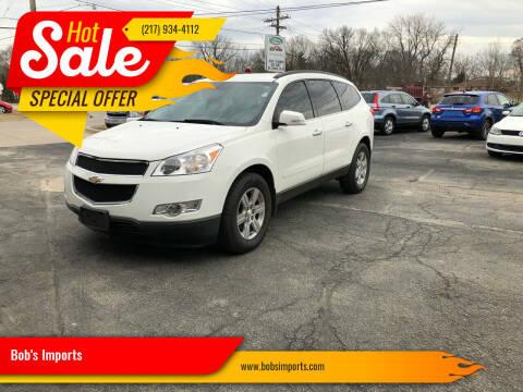 2012 Chevrolet Traverse for sale at Bob's Imports in Clinton IL