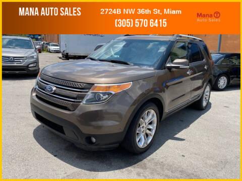 2015 Ford Explorer for sale at MANA AUTO SALES in Miami FL