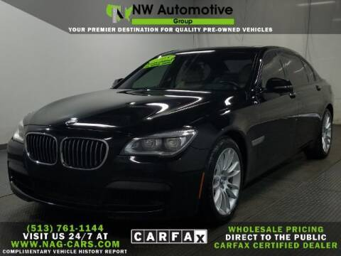 2015 BMW 7 Series for sale at NW Automotive Group in Cincinnati OH