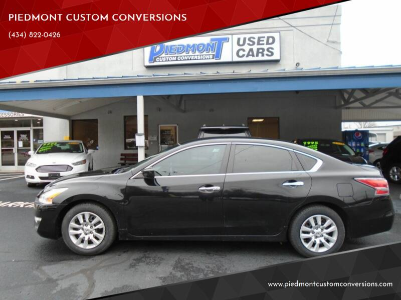 2015 Nissan Altima for sale at PIEDMONT CUSTOM CONVERSIONS USED CARS in Danville VA