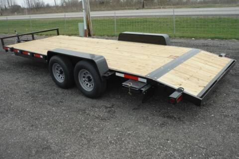2022 Quality Steel 20 FT CAR HAULER 10K AXLES for sale at Bryan Auto Depot in Bryan OH