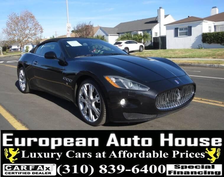 2015 Maserati GranTurismo for sale at European Auto House in Los Angeles CA