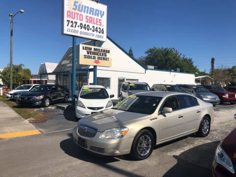 2008 Buick Lucerne for sale at Sunray Auto Sales Inc. in Holiday FL