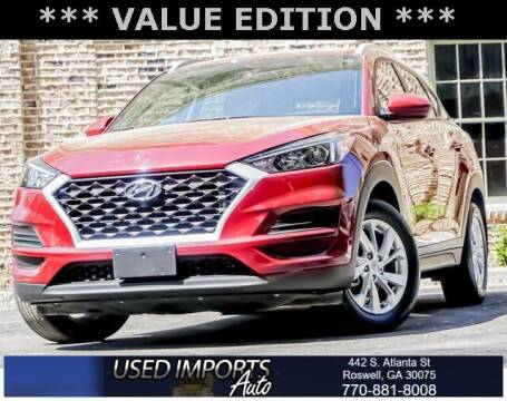 2019 Hyundai Tucson for sale at Used Imports Auto in Roswell GA