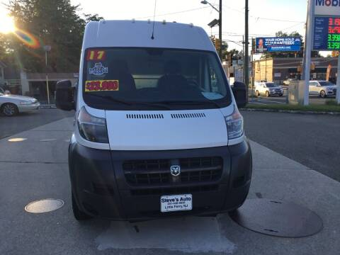 2017 RAM ProMaster Cargo for sale at Steves Auto Sales in Little Ferry NJ