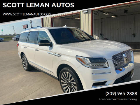 2018 Lincoln Navigator for sale at SCOTT LEMAN AUTOS in Goodfield IL