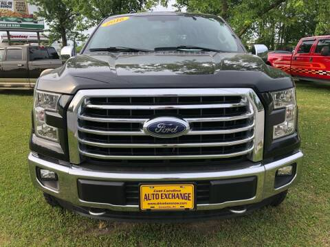 2016 Ford F-150 for sale at DRIVEhereNOW.com in Greenville NC