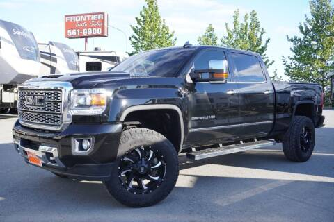 2018 GMC Sierra 2500HD for sale at Frontier Auto & RV Sales in Anchorage AK