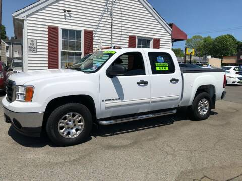 2007 GMC Sierra 1500 for sale at Crown Auto Sales in Abington MA
