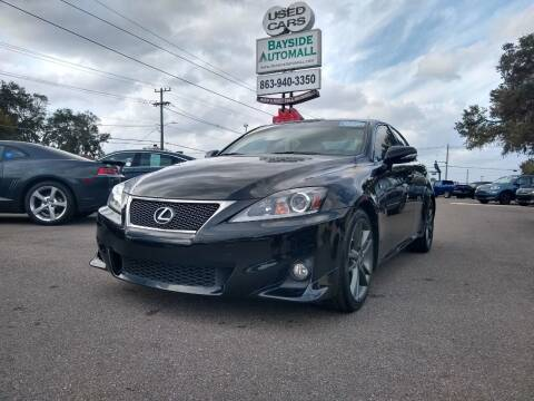 2011 Lexus IS 250 for sale at BAYSIDE AUTOMALL in Lakeland FL