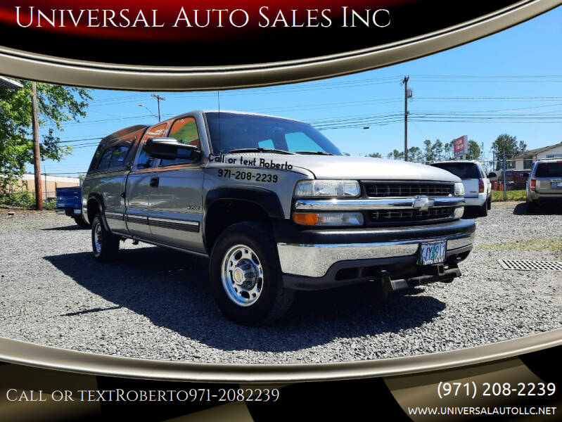 1999 Chevrolet Silverado 2500 for sale in Salem, OR