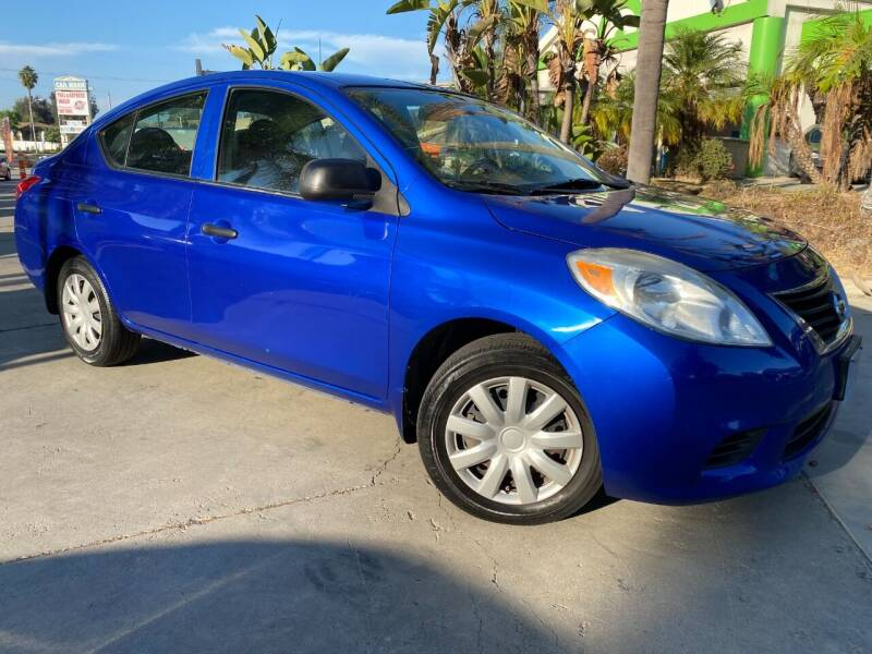 2012 Nissan Versa for sale at Luxury Auto Lounge in Costa Mesa CA