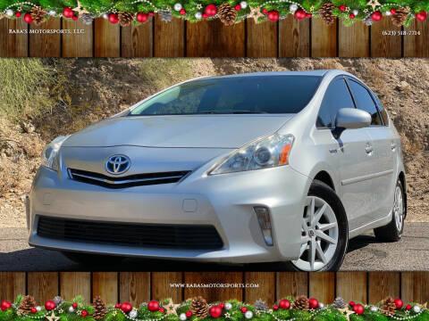2013 Toyota Prius v for sale at Baba's Motorsports, LLC in Phoenix AZ
