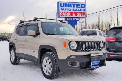 2015 Jeep Renegade for sale at United Auto Sales in Anchorage AK