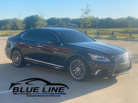 2013 Lexus LS 460 for sale at Blue Line Motors in Bixby OK