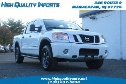 2013 Nissan Titan for sale at High Quality Imports in Manalapan NJ