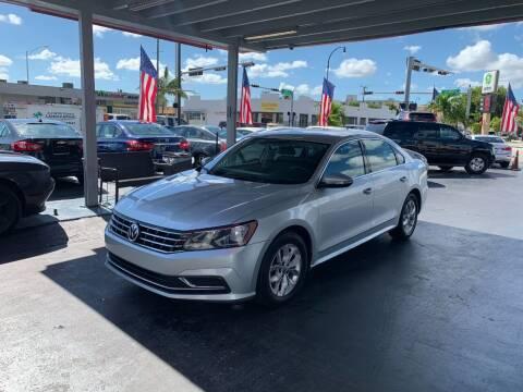 2016 Volkswagen Passat for sale at American Auto Sales in Hialeah FL
