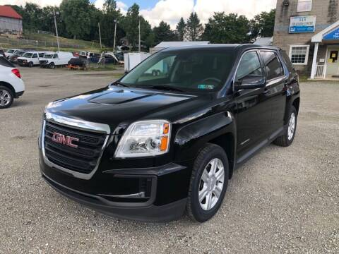 2016 GMC Terrain for sale at G & H Automotive in Mount Pleasant PA