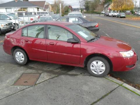 2007 Saturn Ion for sale at Car Link Auto Sales LLC in Marysville WA