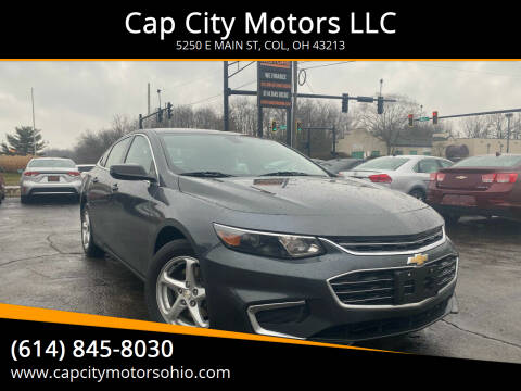 2017 Chevrolet Malibu for sale at Cap City Motors LLC in Columbus OH