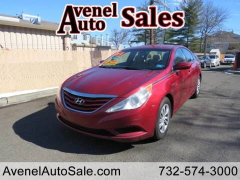 2011 Hyundai Sonata for sale at Avenel Auto Sales in Avenel NJ
