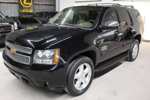 2013 Chevrolet Tahoe for sale at ESPI Motors in Houston TX