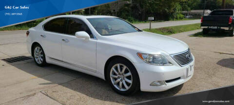 2007 Lexus LS 460 for sale at G&J Car Sales in Houston TX