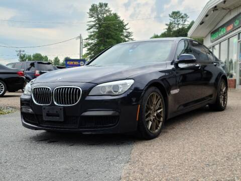 2014 BMW 7 Series for sale at Green Cars Vermont in Montpelier VT
