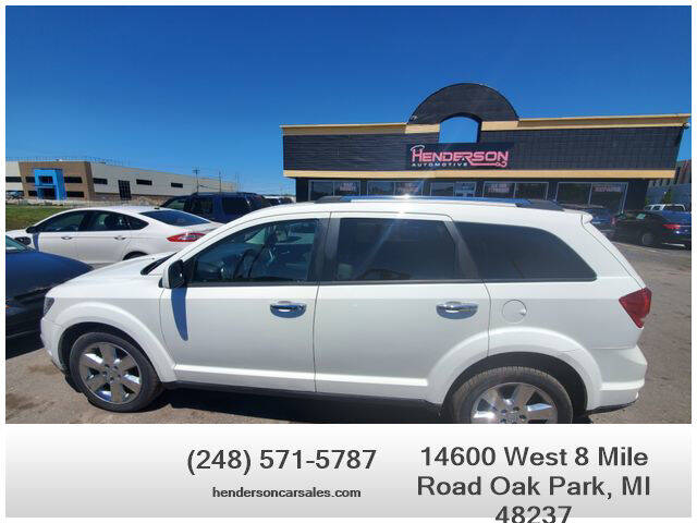 2012 Dodge Journey for sale at Henderson Automotive, LLC in Oak Park MI