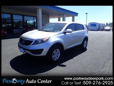 2011 Kia Sportage for sale at PARKWAY AUTO CENTER AND RV in Deer Park WA