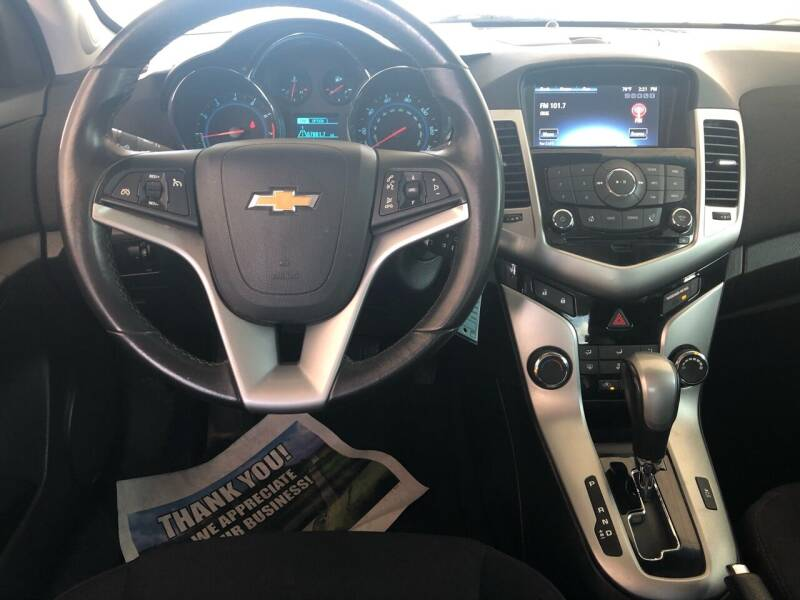 2014 Chevrolet Cruze 1LT Auto 4dr Sedan w/1SD - Fort Gibson OK