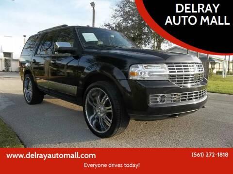 2013 Lincoln Navigator for sale at DELRAY AUTO MALL in Delray Beach FL