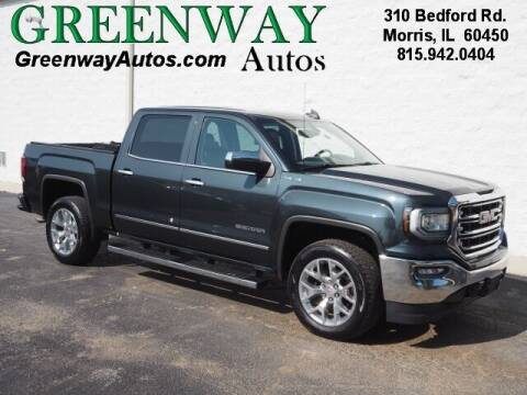 2018 GMC Sierra 1500 for sale at Greenway Automotive GMC in Morris IL