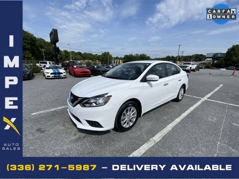 2018 Nissan Sentra for sale at Impex Auto Sales in Greensboro NC