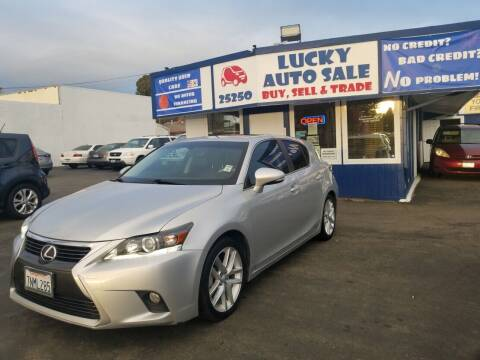 2015 Lexus CT 200h for sale at Lucky Auto Sale in Hayward CA
