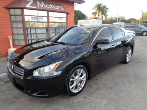 2014 Nissan Maxima for sale at Z MOTORS INC in Hollywood FL