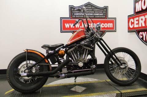 1991 Harley-Davidson CUSTOM for sale at Certified Motor Company in Las Vegas NV