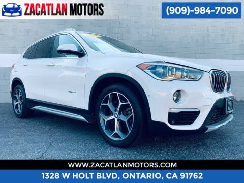 2016 BMW X1 for sale at Ontario Auto Square in Ontario CA