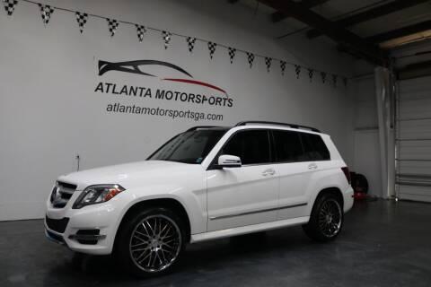 2014 Mercedes-Benz GLK for sale at Atlanta Motorsports in Roswell GA