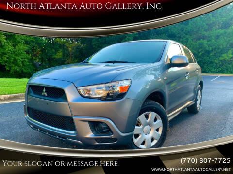 2011 Mitsubishi Outlander Sport for sale at North Atlanta Auto Gallery, Inc in Alpharetta GA