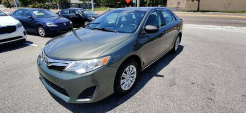 2012 Toyota Camry for sale at Max Auto Sales in Sanford FL