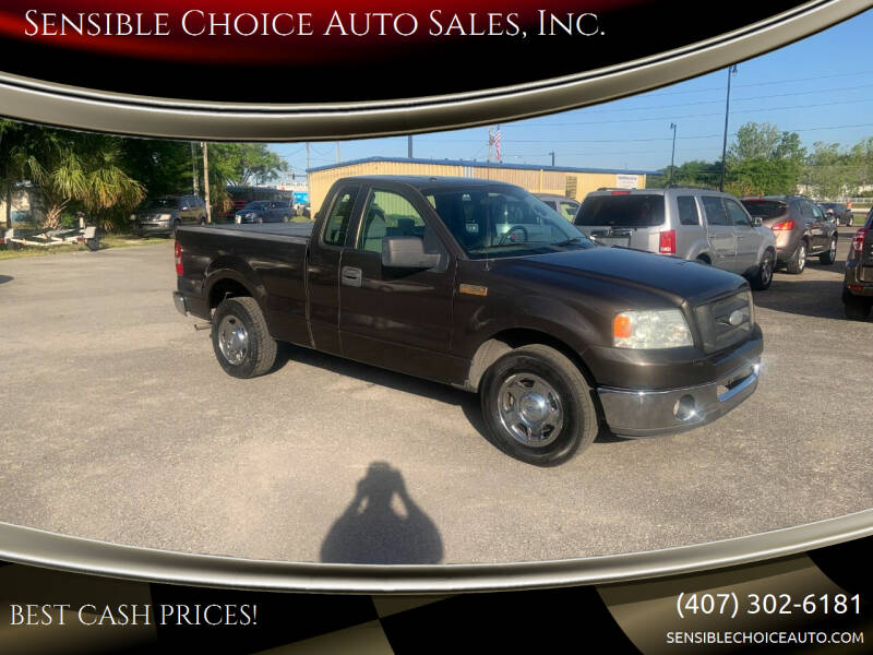 2006 Ford F-150 for sale at Sensible Choice Auto Sales, Inc. in Longwood FL