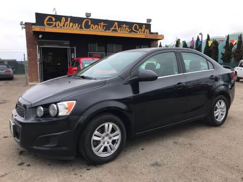 2015 Chevrolet Sonic for sale at Golden Coast Auto Sales in Guadalupe CA