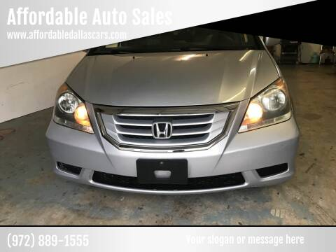 2010 Honda Odyssey for sale at Affordable Auto Sales in Dallas TX