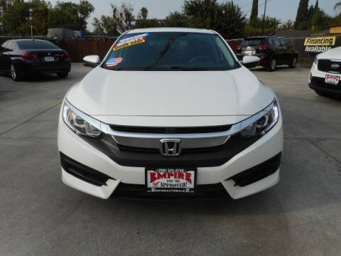 2016 Honda Civic for sale at Empire Auto Sales in Modesto CA