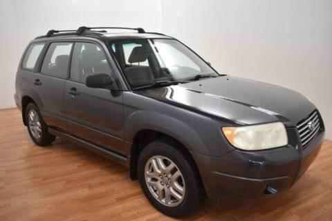 2008 Subaru Forester for sale at Paris Motors Inc in Grand Rapids MI