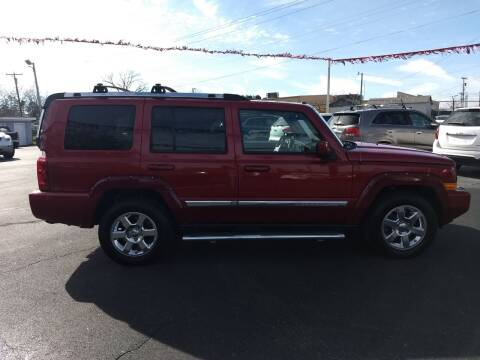 2010 Jeep Commander for sale at Kenny's Auto Sales Inc. in Lowell NC