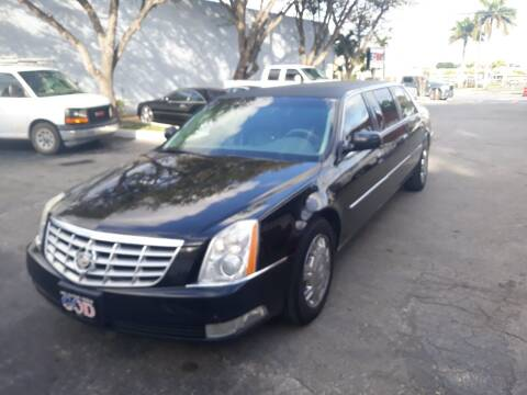 2010 Cadillac DTS Pro for sale at LAND & SEA BROKERS INC in Pompano Beach FL