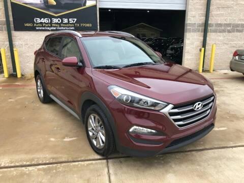 2018 Hyundai Tucson for sale at KAYALAR MOTORS in Houston TX