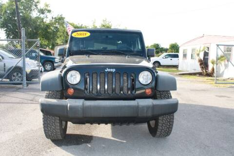 2008 Jeep Wrangler for sale at Fabela's Auto Sales Inc. in Dickinson TX